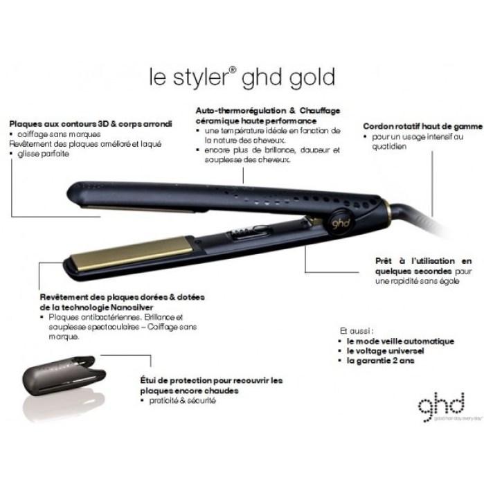 Test et Avis   Lisseur GHD Gold Classic, Que vaut la marque GHD ... 65def04fc2bd