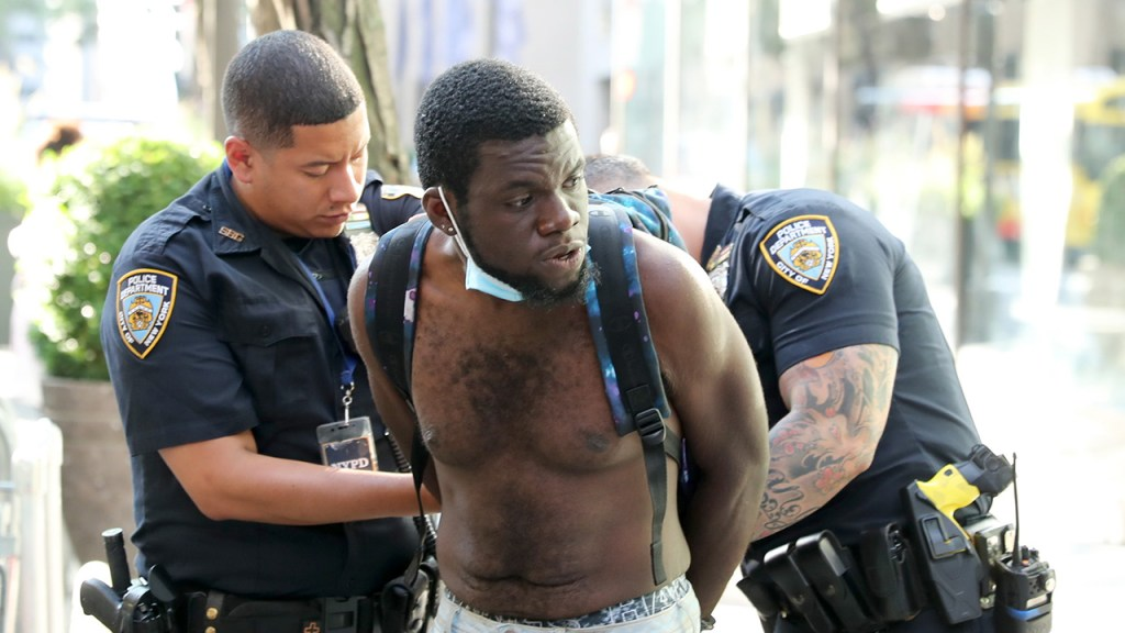Woman 'traumatized' after alleged belt beating by NYC homeless man