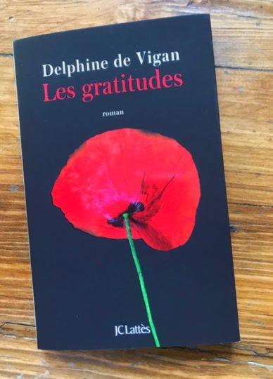 Les Gratitudes Delphine De Vigan : gratitudes, delphine, vigan, Merci