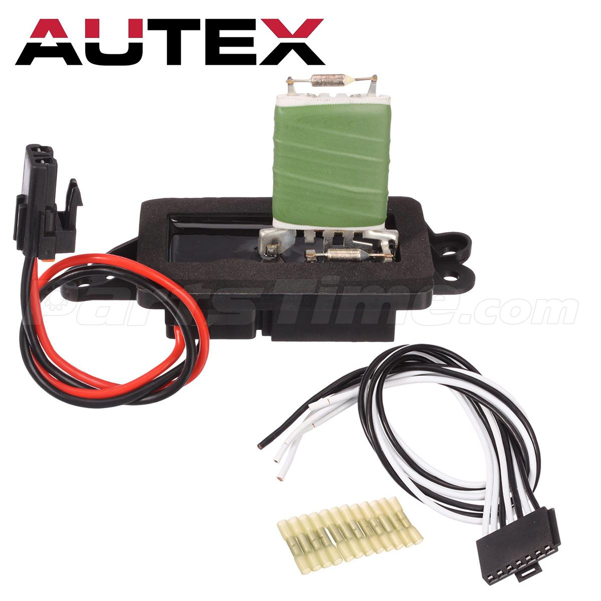 7 wire blower motor resistor harness 2000 dodge neon alternator wiring diagram heater w for