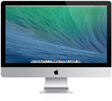 iMac (27-inch,RAM 16G HDD 1T+SSD 120,Late 2013)