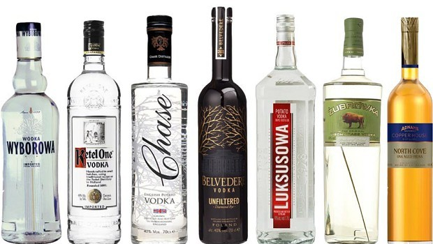 Top 10 Vodka Mixen