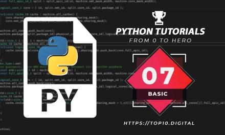 Python Complete Series – 07