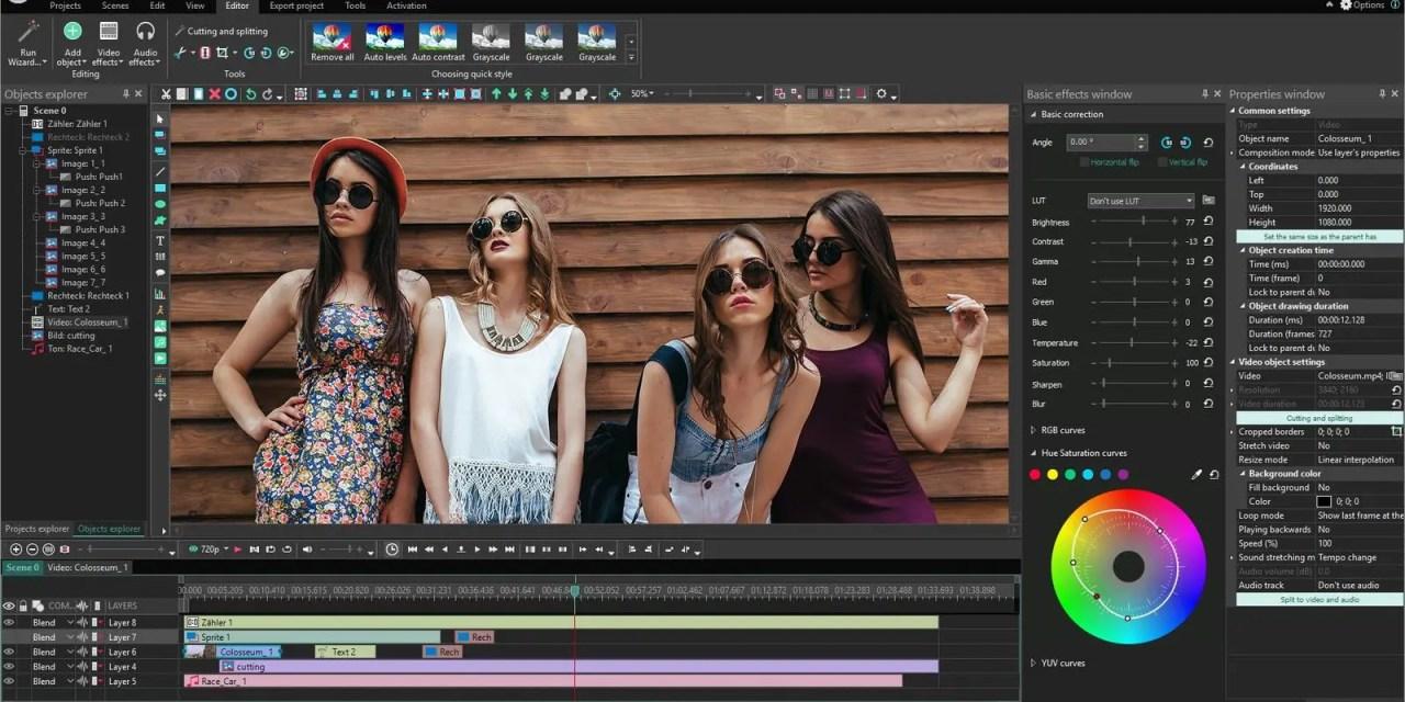 VSDC Free Video Editor A Stunning Tool