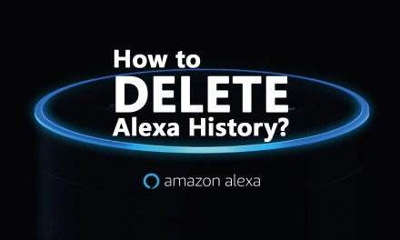 How to review and delete Alexa History?