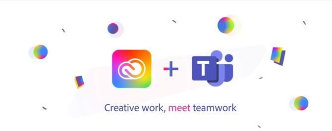 Adobe creative cloud, Microsoft Teams Integrated with Adobe Creative Cloud, Top10.Digital