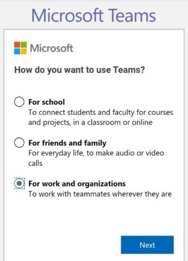 Microsoft teams free