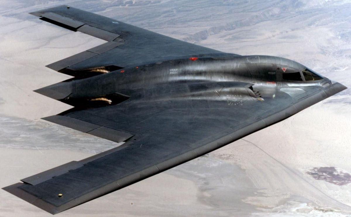 Обои стратегический, b-2 spirit, бомбардировщик, Northrop. Авиация foto 10