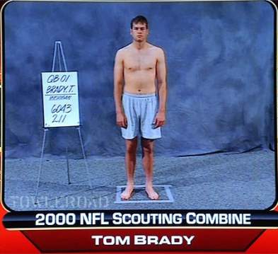 Based on his physique, I don't think Brady won.