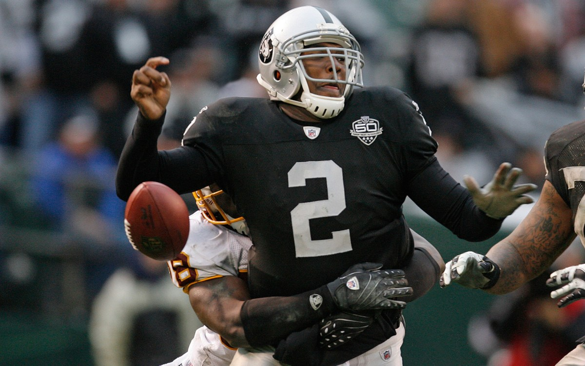 JaMarcus Russell: #3 NFL Draft Bust