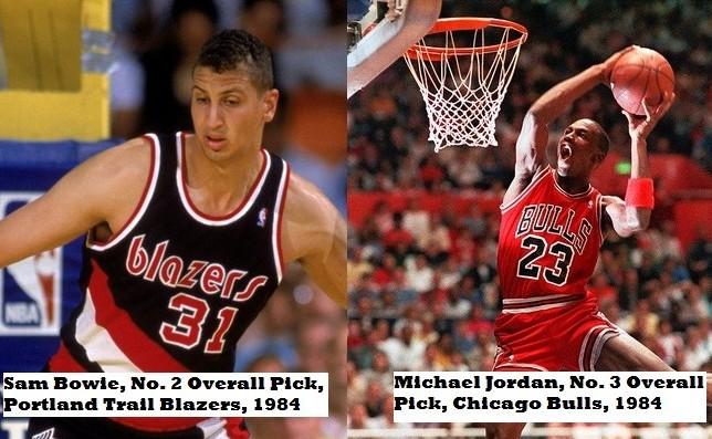 NBA Draft Busts vs. Worst NBA Draft Picks