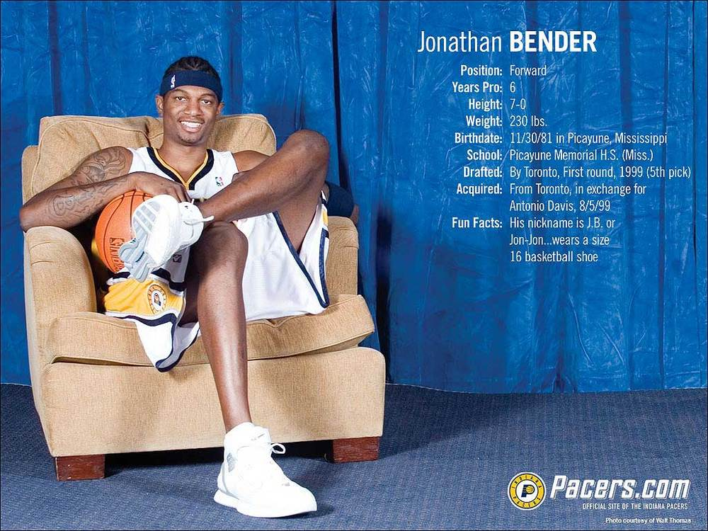 Jonathan Bender Exemption: Too Inexperienced (NBA)