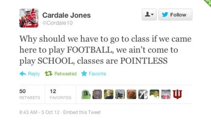 jones tweet
