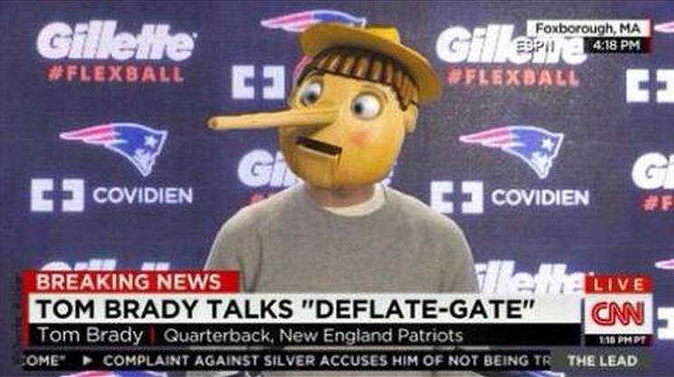 Deflategate – Tom Brady: BUSTED!