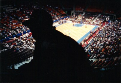 Inside Brendan Bryne Arena, the one-time home of the New Jersey Nets