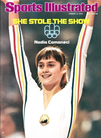 NADIA COMANECI COVER OF SPORTS ILLUSTRATED AUGUST 2, 1976