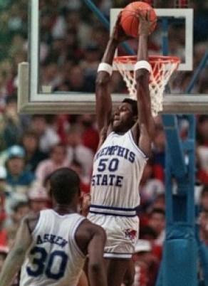 William Bedford reverse dunk
