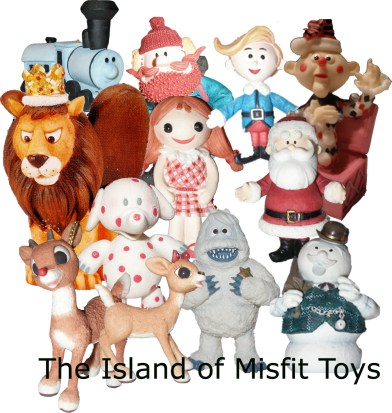 monkeybone vs island of misfit toys