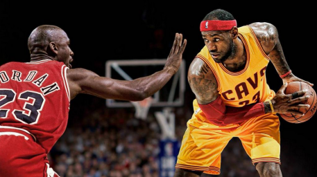 NBA TOP 25 Jordan-Lebron