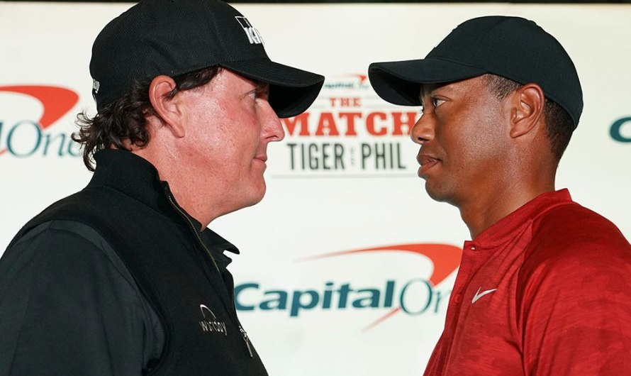Top 10 Busted: The Match (Tiger vs. Phil)