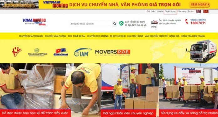 Dịch vụ chuyển nhà trọn gói của công ty Vietnam Moving