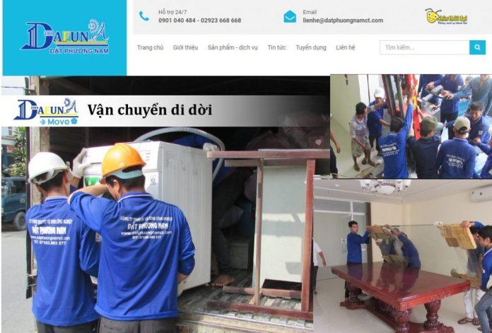 Dịch vụ chuyển nhà trọn gói của DAFUNA Đất Phương Nam