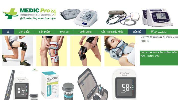 Công ty thiết bị & vật tư y tế Medic Pro 24