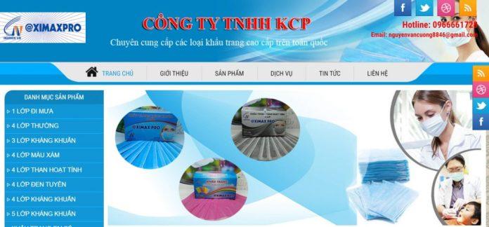 Khẩu Trang Y Tế Khuyên Cường Phát - Công Ty TNHH SX TM DV Khuyên Cường Phát