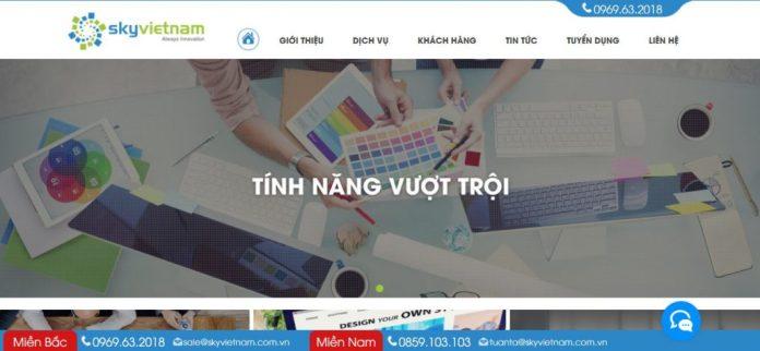 Công ty thiết kế website uy tín Sky Việt Nam