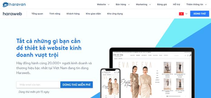 Công Ty Thiết Kế Website Bán Hàng Chuyên Nghiệp – Haravan