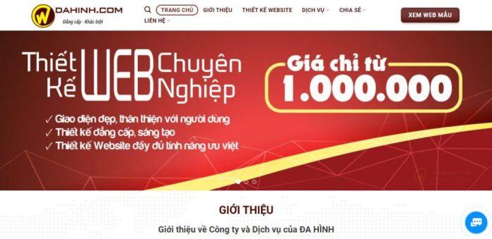 Công Ty Thiết Kế Website - Cty CP Truyền Thông Đa Hình
