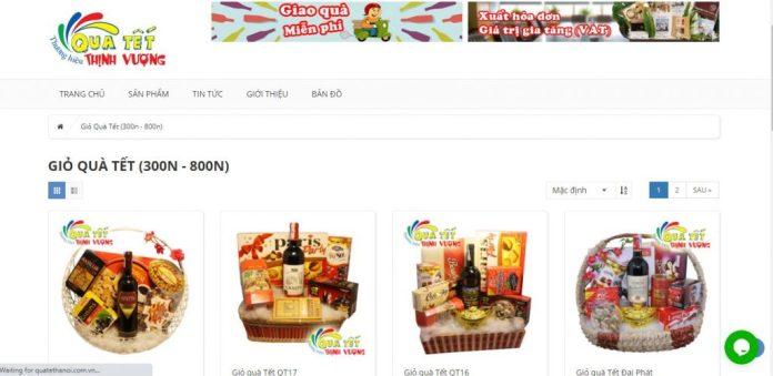 Công ty cung cấp giỏ quà tết cho doanh nghiệp Quà Tết Thịnh Vượng