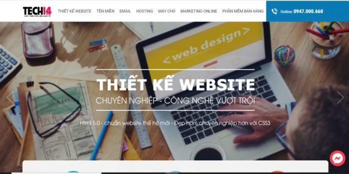 Công Ty Thiết Kế Website Tech14