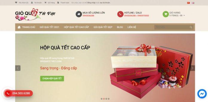 Công ty cung cấp quà tết cho doanh nghiệp GIỎ QUÀ TẾT VIỆT