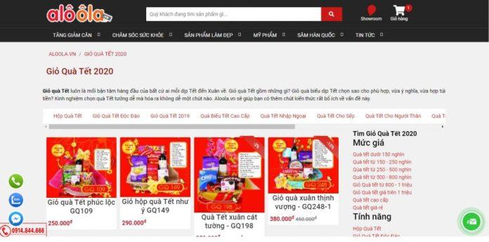 Công ty cung cấp giỏ quà tết cho doanh nghiệp Alo Ôla