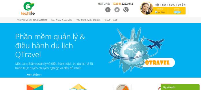 Công Ty Thiết Kế Website TechLife