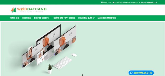 Công Ty Thiết Kế Website - Web Đất Cảng Hải Phòng