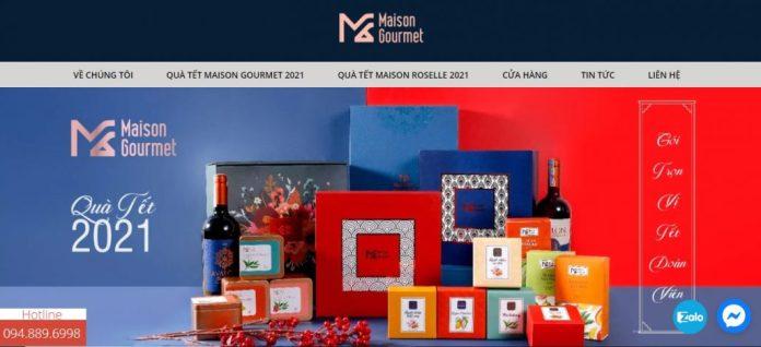 Công ty cung cấp quà tết cho doanh nghiệp MAISON GOURMET