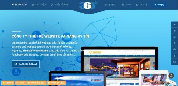 Công Ty Thiết Kế Website - Web360