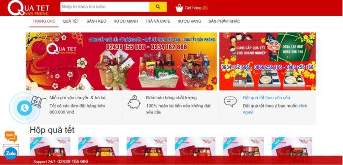 Công ty cung cấp giỏ quà tết cho doanh nghiệp Quà tết văn phòng
