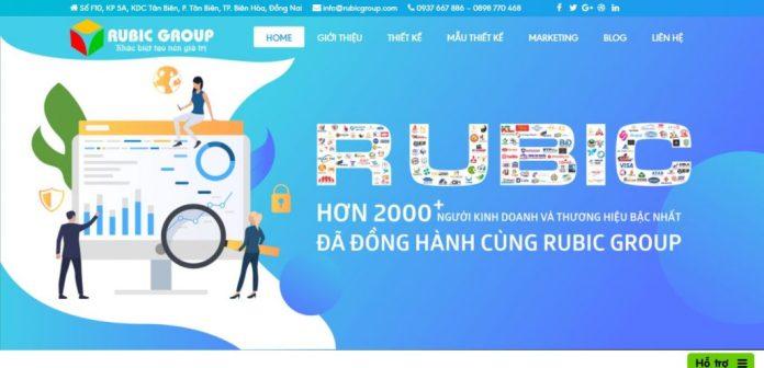 Công Ty Thiết Kế Website Rubic Group