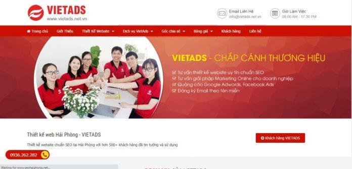 Công Ty Thiết Kế Website VIETADS