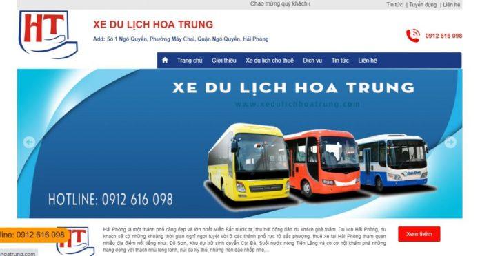 Công ty Xe du lịch Hoa Trung