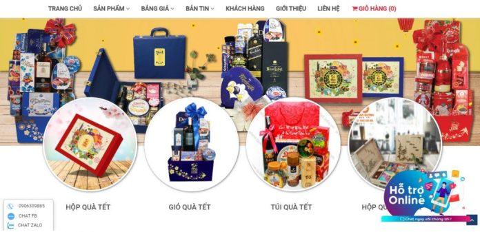 Công ty cung cấp giỏ quà tết cho doanh nghiệp Cống Quỳnh