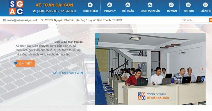 Công ty kế toán Sài Gòn