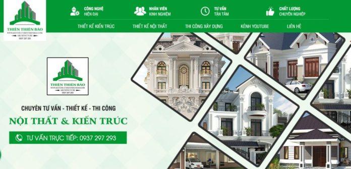 Công ty xây dựng nhà Thiên Thiên Bảo