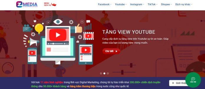 Dịch vụ tăng view Youtube EzMedia