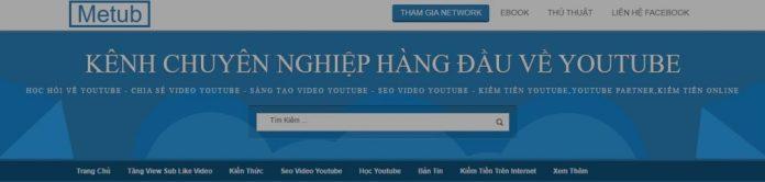 Dịch vụ tăng view Youtube Metub