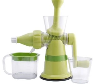 Chef's Star Manual Hand Crank Single Auger Juicer