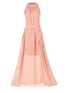 Howriis Women's Chiffon Sleeveless Long Formal Dresses